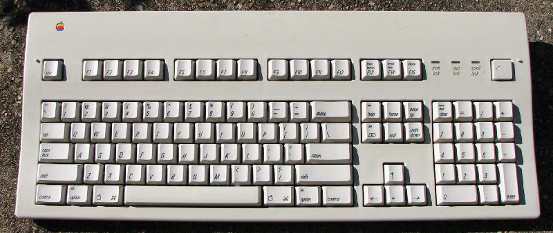 20 Year Old Apple Keyboard